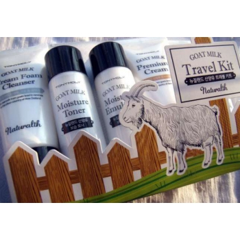 Набор с козьим молоком Tony Moly Moly Naturalth Goat Milk Whitening Travel Kit